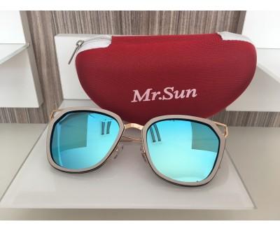 Óculos de Sol Mr. Sun B088 55 BRANCO
