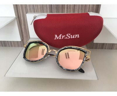 Óculos de Sol Mr. Sun 16226 55 PRETO