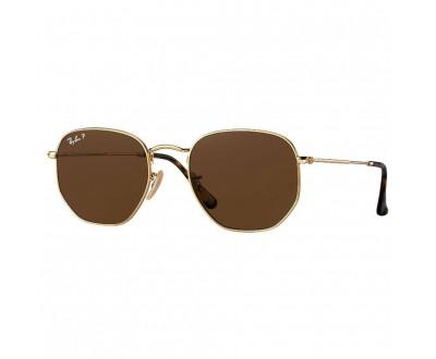Óculos de Sol Ray Ban Hexagonal RB 3548N 001/57 51