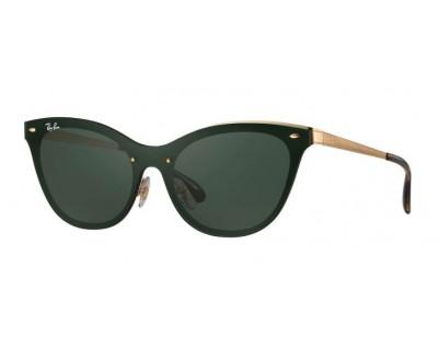 Óculos de Sol Ray Ban Blaze Cat Eye RB3580N 043/71 43
